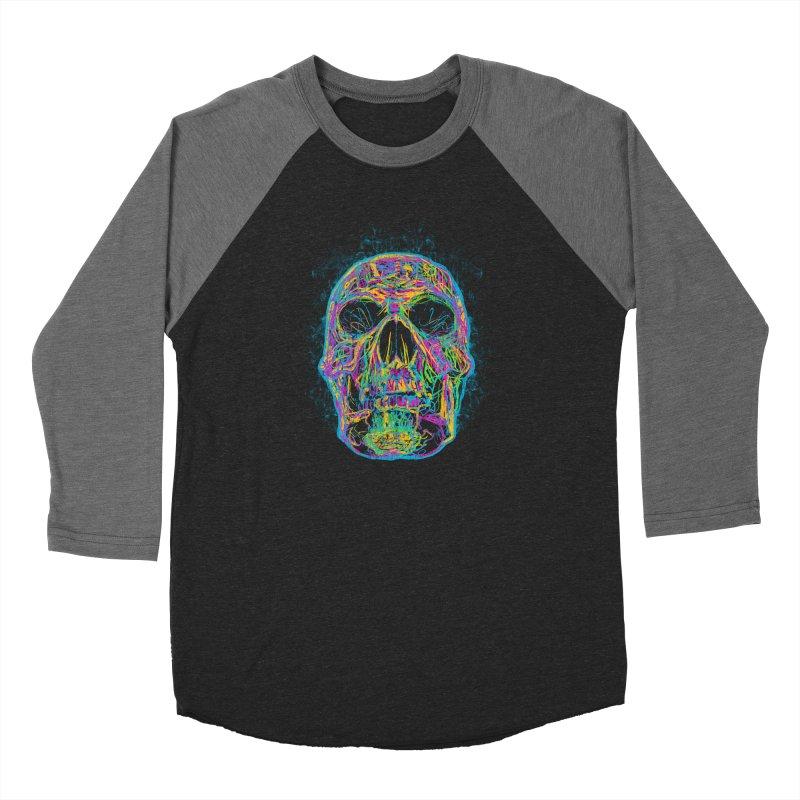 NEON SKULL Women's Longsleeve T-Shirt by robbyiodized's Artist Shop
