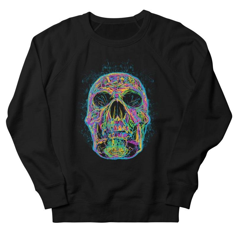 NEON SKULL Women's Sweatshirt by robbyiodized's Artist Shop