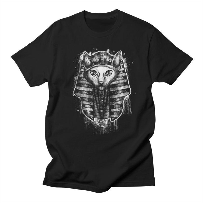 THE PHARAOH CAT Men's T-Shirt by robbyiodized's Artist Shop