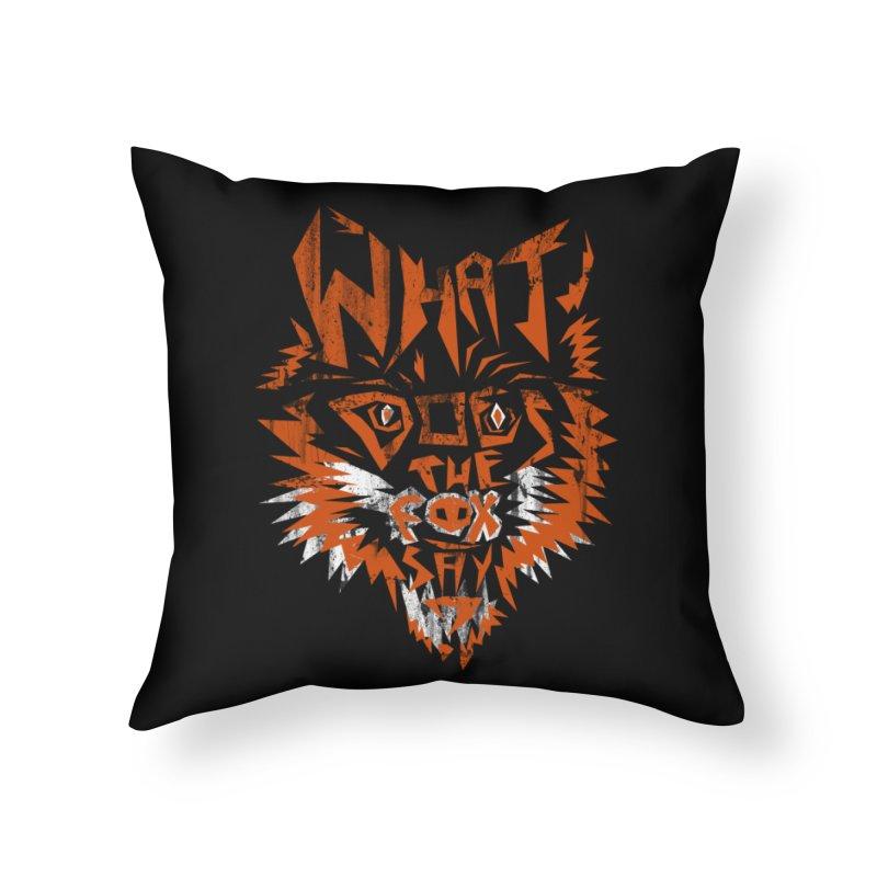 WDTFS Home Throw Pillow by robbyiodized's Artist Shop