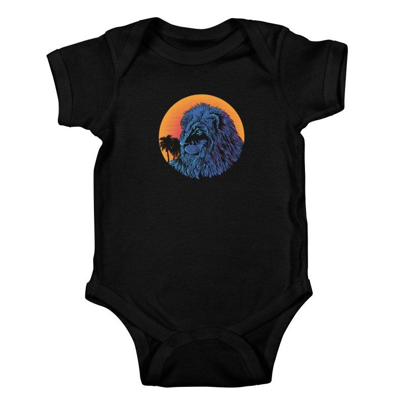 LEO WAVE Kids Baby Bodysuit by robbyiodized's Artist Shop