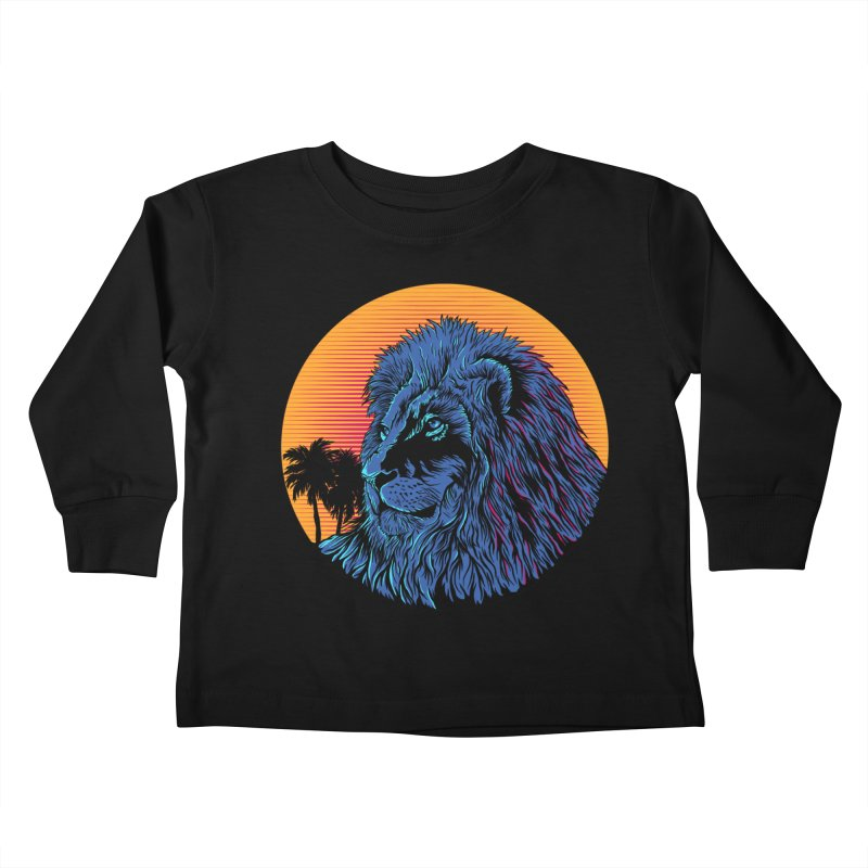 LEO WAVE Kids Toddler Longsleeve T-Shirt by robbyiodized's Artist Shop