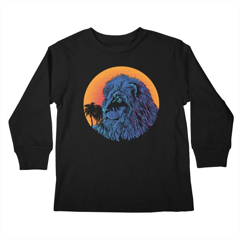 LEO WAVE Kids Longsleeve T-Shirt by robbyiodized's Artist Shop