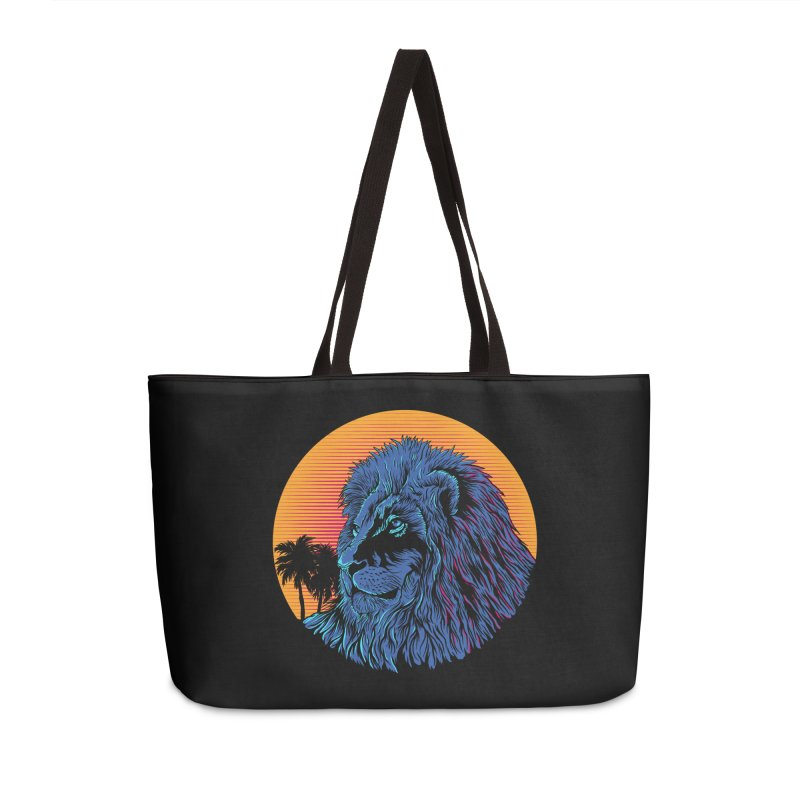 LEO WAVE Accessories Bag by robbyiodized's Artist Shop