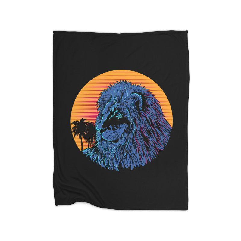LEO WAVE Home Blanket by robbyiodized's Artist Shop