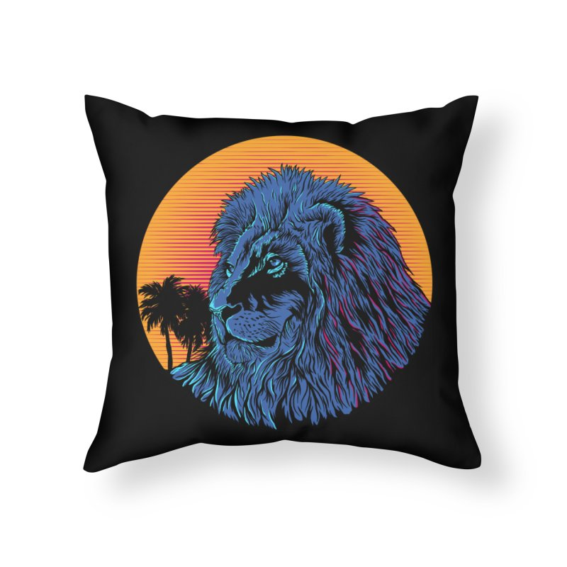 LEO WAVE Home Throw Pillow by robbyiodized's Artist Shop