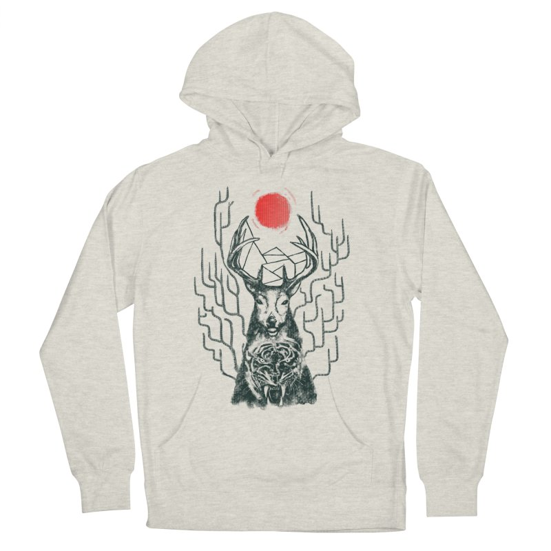 THE BEAST INSIDE Men's French Terry Pullover Hoody by robbyiodized's Artist Shop