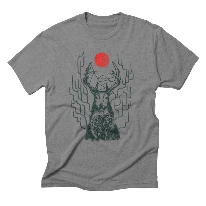 THE BEAST INSIDE Men's Triblend T-shirt by robbyiodized's Artist Shop