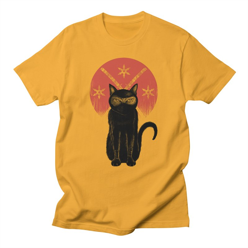 9 LIVES Men's Regular T-Shirt by robbyiodized's Artist Shop