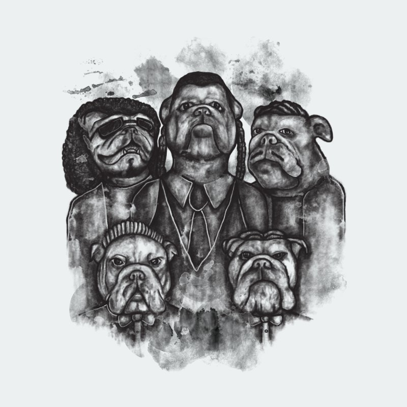 BULLDOGS&HARMONY Men's T-shirt by robbyiodized's Artist Shop