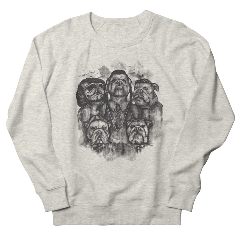 BULLDOGS&HARMONY Men's French Terry Sweatshirt by robbyiodized's Artist Shop