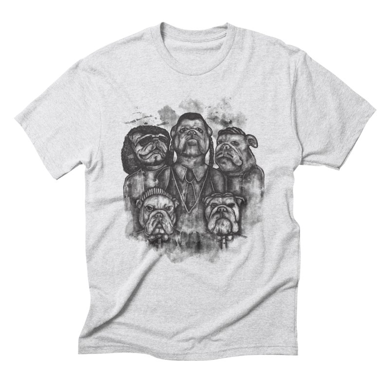 BULLDOGS&HARMONY Men's Triblend T-Shirt by robbyiodized's Artist Shop