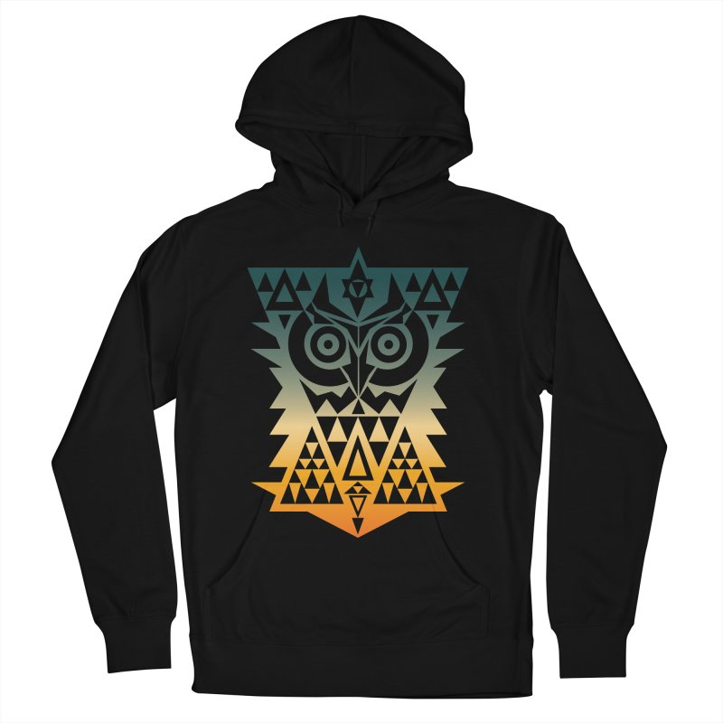 TRIANGOWL Men's French Terry Pullover Hoody by robbyiodized's Artist Shop