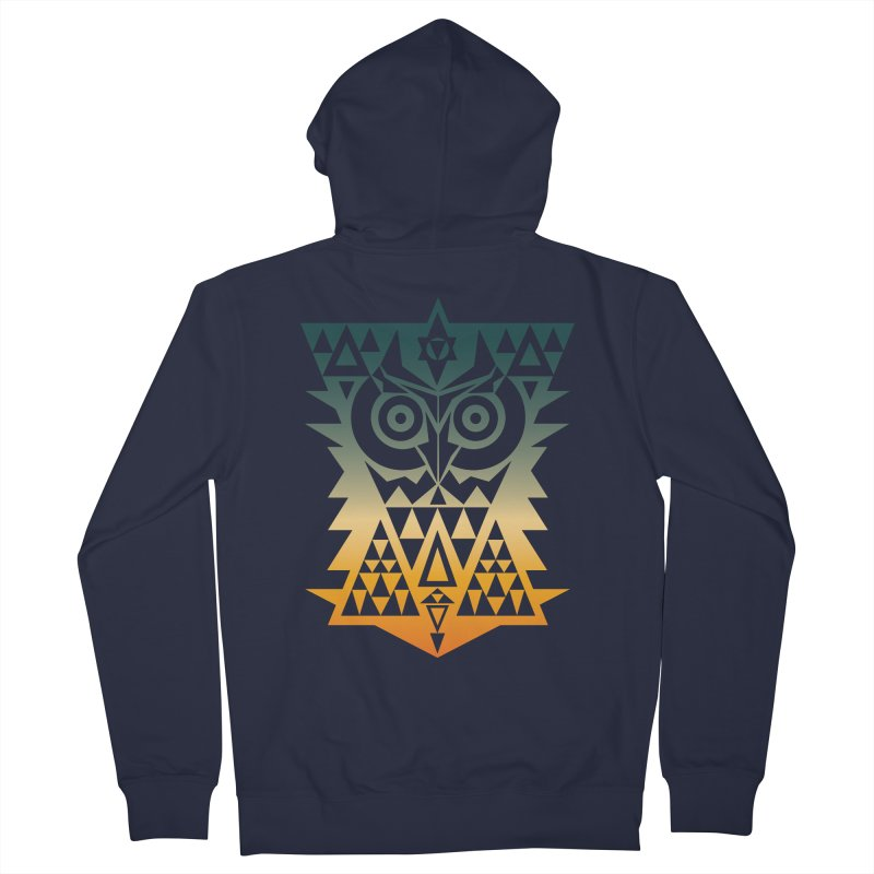 TRIANGOWL Men's Zip-Up Hoody by robbyiodized's Artist Shop