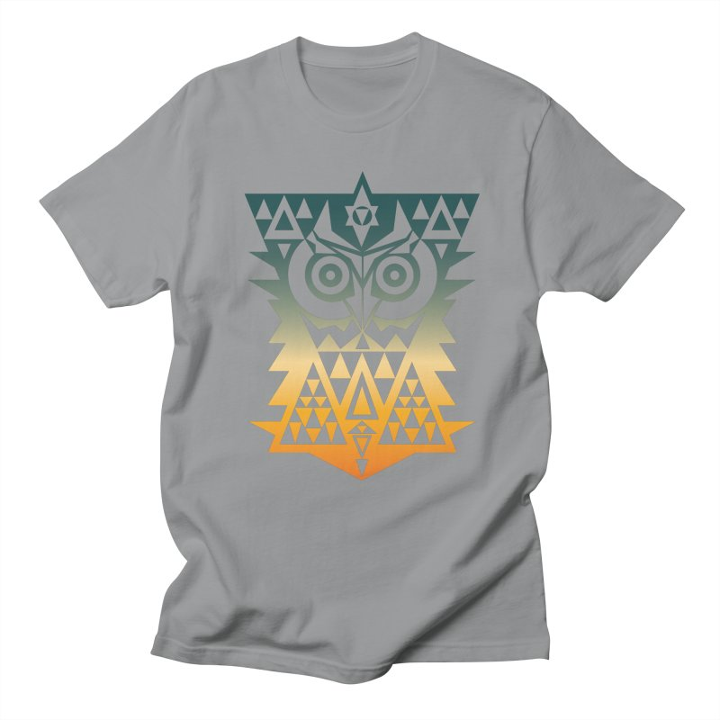 TRIANGOWL Men's T-Shirt by robbyiodized's Artist Shop