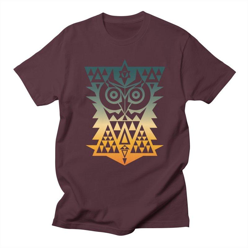 TRIANGOWL Men's Regular T-Shirt by robbyiodized's Artist Shop