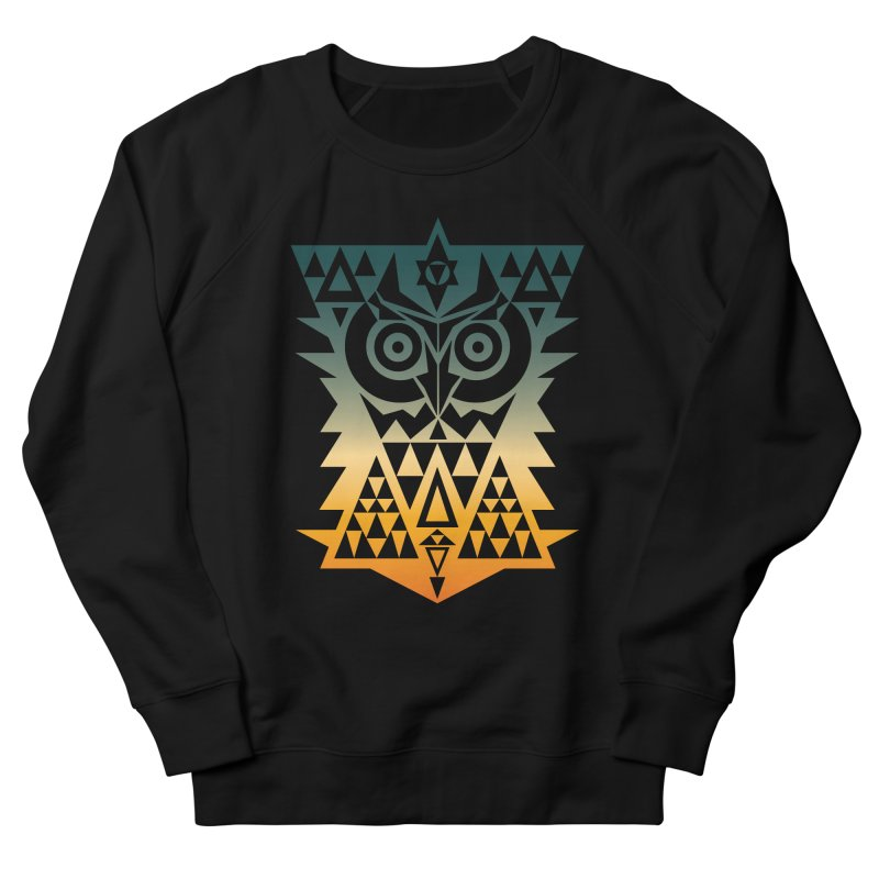 TRIANGOWL Men's French Terry Sweatshirt by robbyiodized's Artist Shop