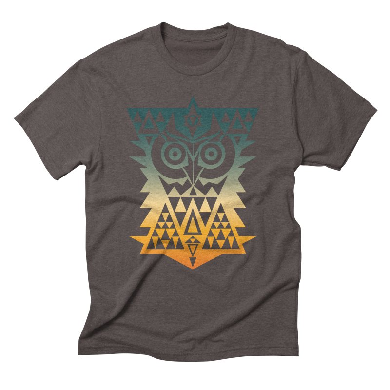TRIANGOWL Men's Triblend T-Shirt by robbyiodized's Artist Shop