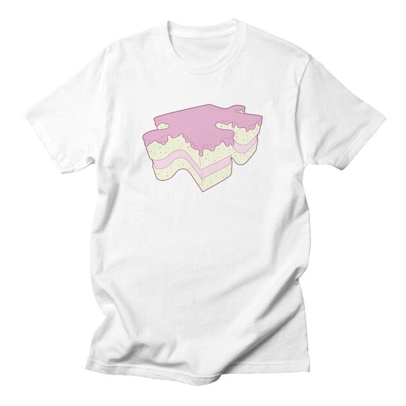 Piece of Cake Men's T-Shirt by robert's Artist Shop