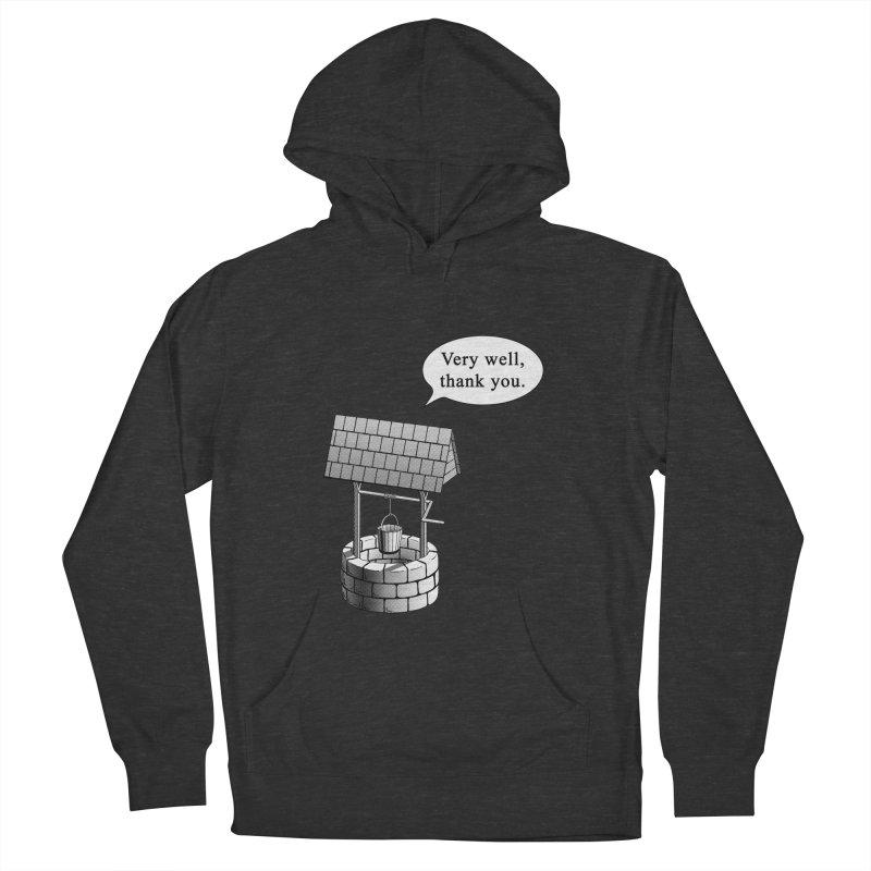 Very Well Men's Pullover Hoody by Robert Clinton's Artist Shop