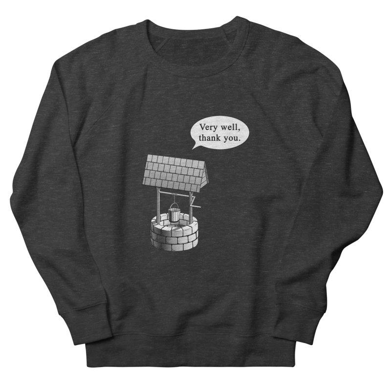 Very Well Women's Sweatshirt by Robert Clinton's Artist Shop