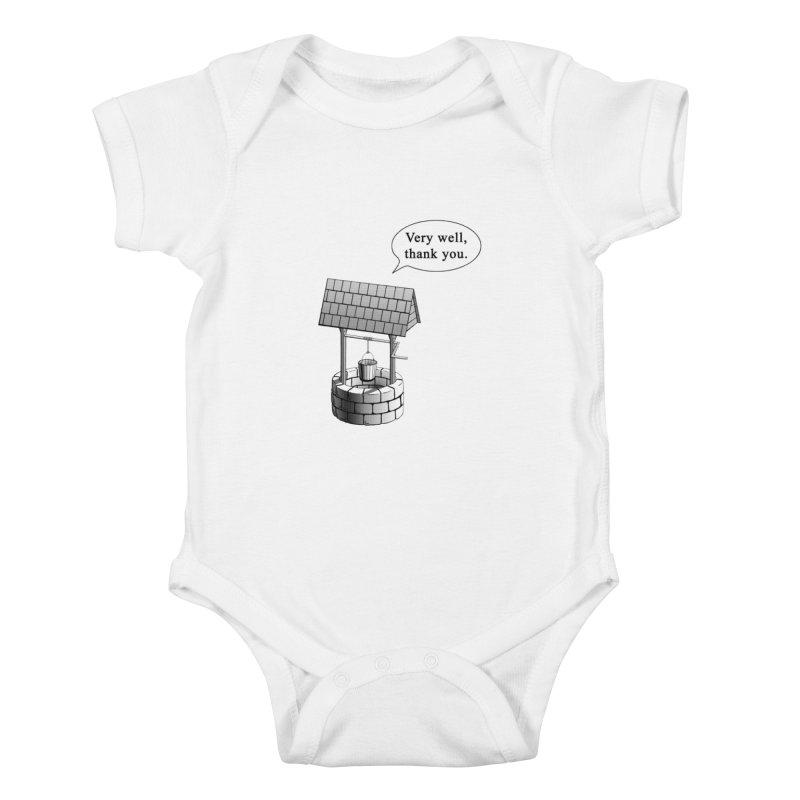 Very Well Kids Baby Bodysuit by Robert Clinton's Artist Shop