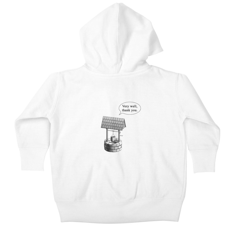 Very Well Kids Baby Zip-Up Hoody by Robert Clinton's Artist Shop