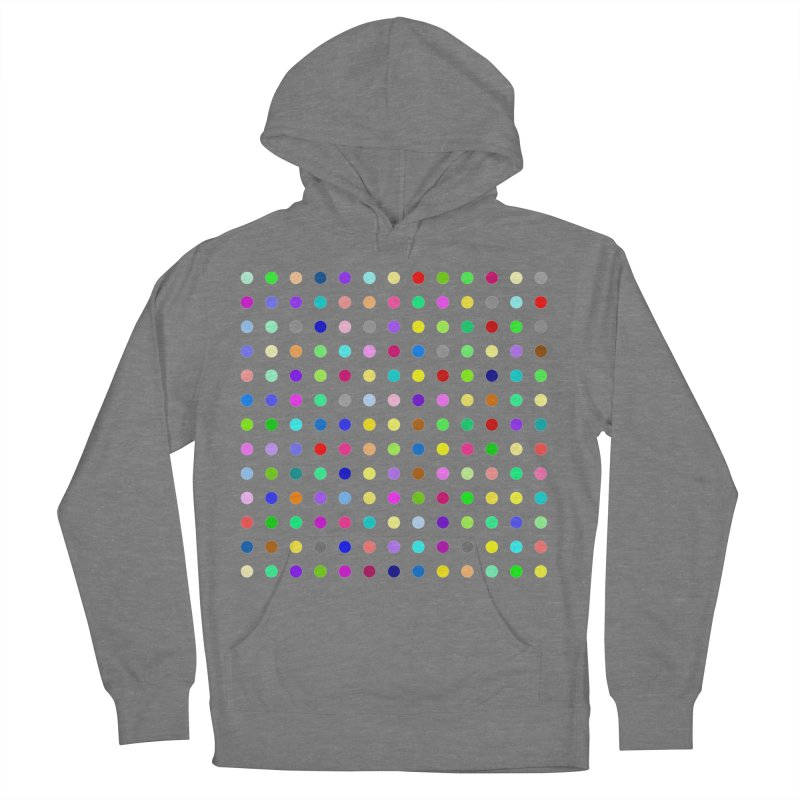 Zalepon Men's French Terry Pullover Hoody by Robert Hirst Artist Shop