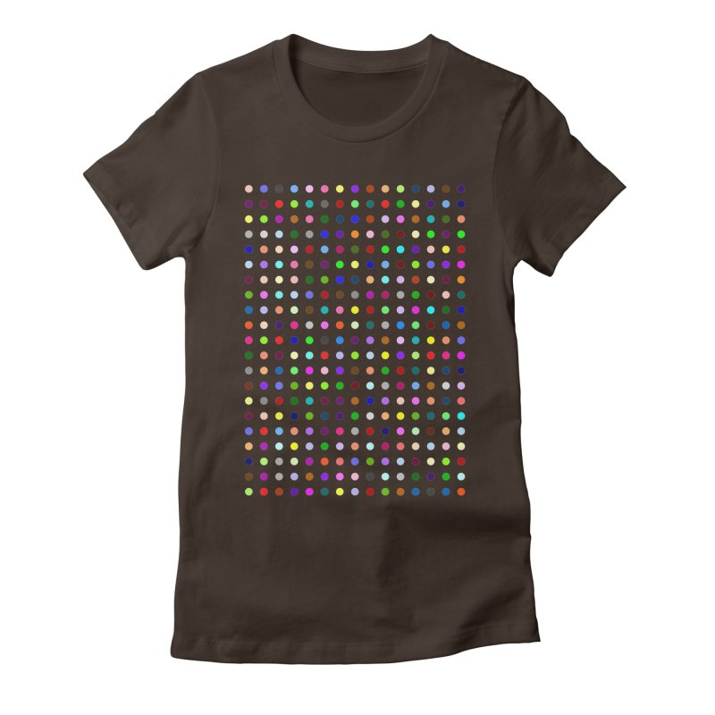 Bretazenil Women's Fitted T-Shirt by Robert Hirst Artist Shop