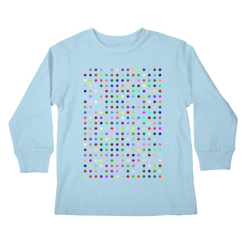 Bretazenil Kids Longsleeve T-Shirt by Robert Hirst Artist Shop