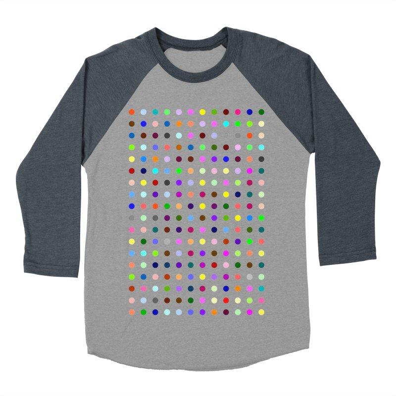 Bromazolam Men's Baseball Triblend Longsleeve T-Shirt by Robert Hirst Artist Shop