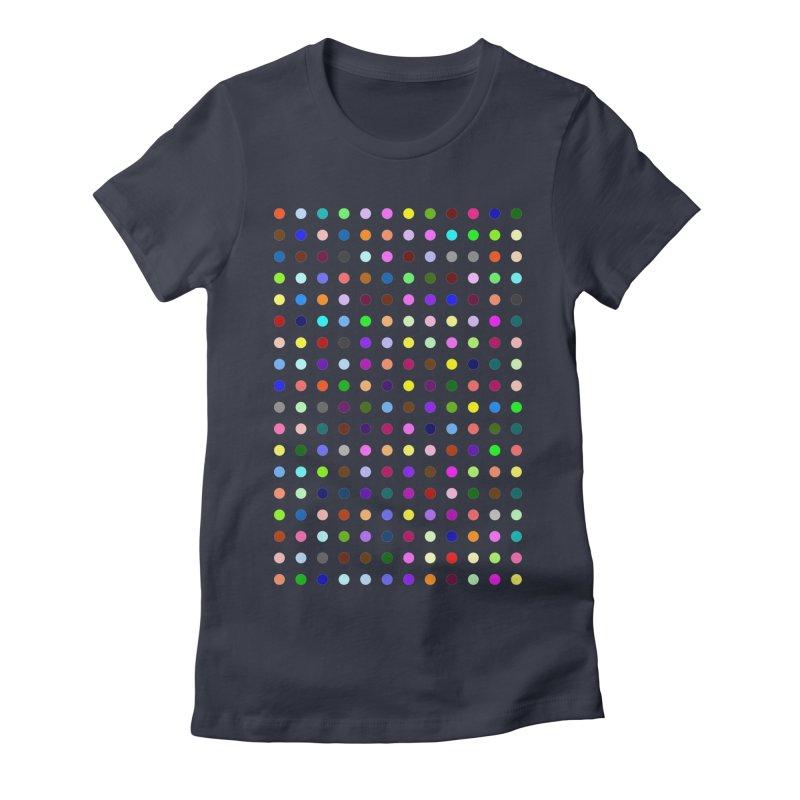 Bromazolam Women's Fitted T-Shirt by Robert Hirst Artist Shop