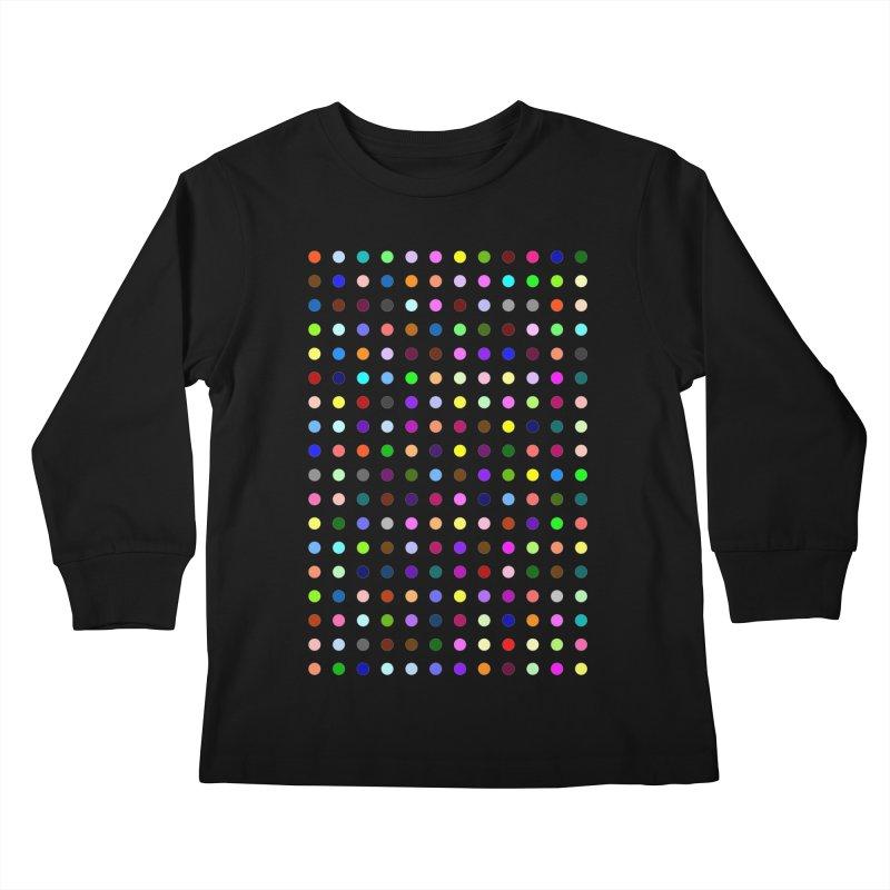 Bromazolam Kids Longsleeve T-Shirt by Robert Hirst Artist Shop