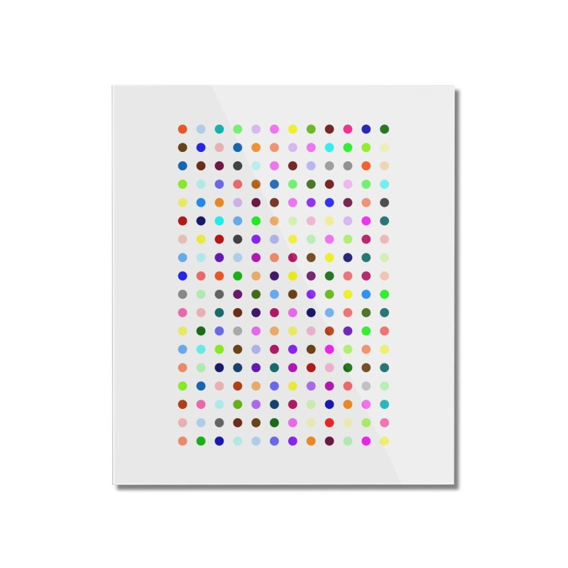 Bromazolam Home Mounted Acrylic Print by Robert Hirst Artist Shop