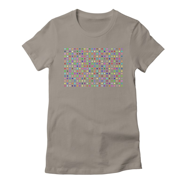 Deschloroetizolam Women's Fitted T-Shirt by Robert Hirst Artist Shop