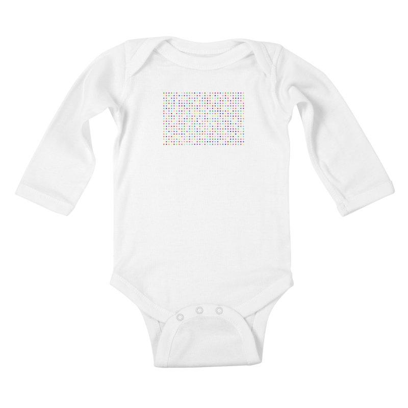 Flubromazepam Kids Baby Longsleeve Bodysuit by Robert Hirst Artist Shop