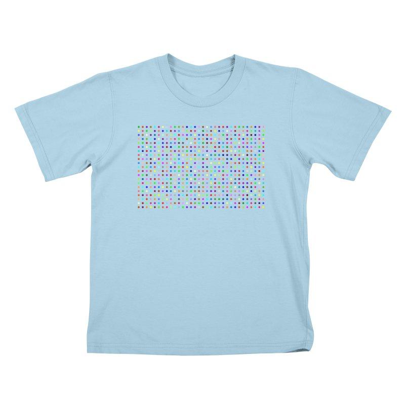 Flubromazepam Kids T-Shirt by Robert Hirst Artist Shop