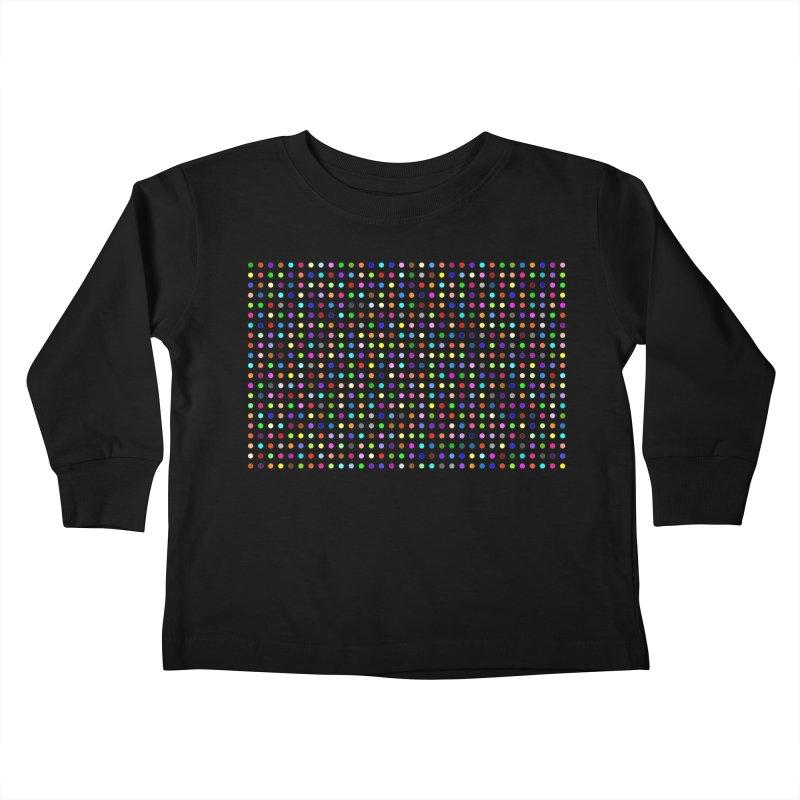 Flubromazepam Kids Toddler Longsleeve T-Shirt by Robert Hirst Artist Shop