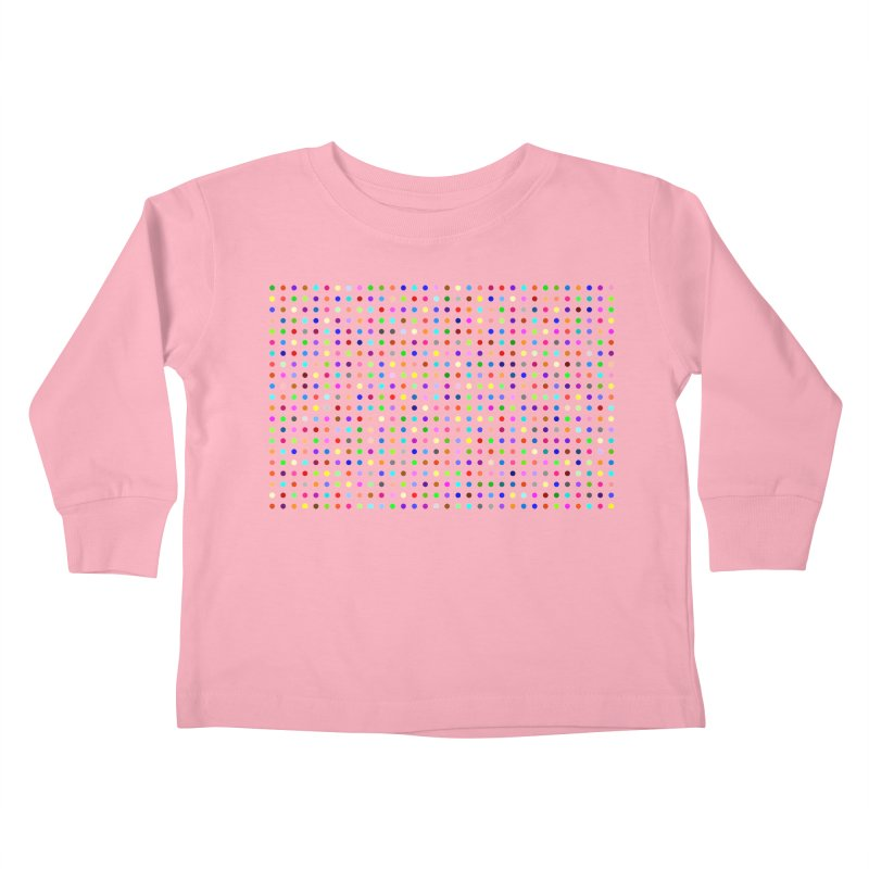 Flubromazepam Kids Toddler Longsleeve T-Shirt by Robert Hirst Artist Shop