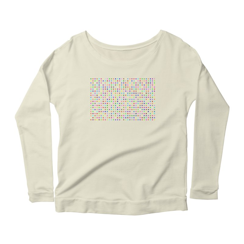Flubromazepam Women's Scoop Neck Longsleeve T-Shirt by Robert Hirst Artist Shop