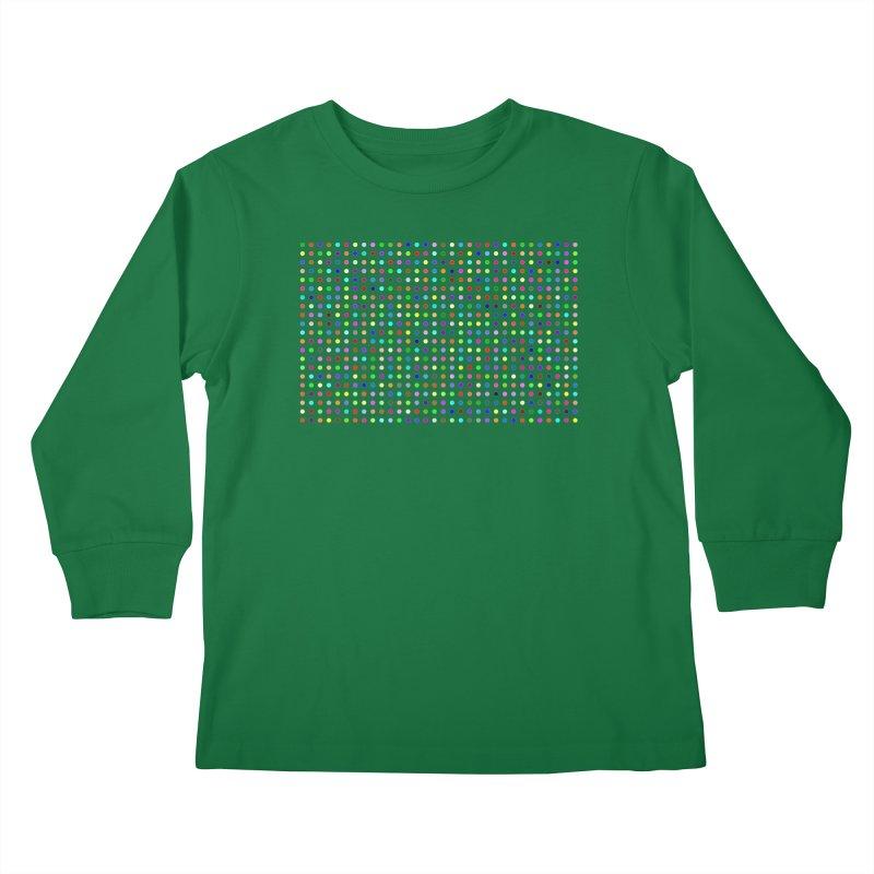 Flubromazepam Kids Longsleeve T-Shirt by Robert Hirst Artist Shop