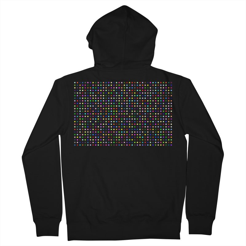 Fluclotizolam Men's French Terry Zip-Up Hoody by Robert Hirst Artist Shop
