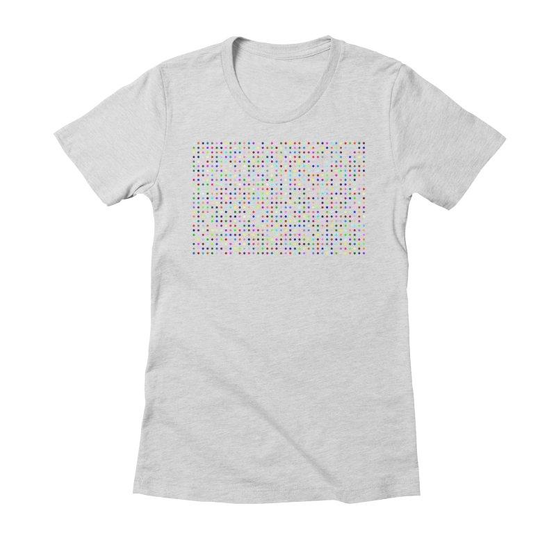 Fluclotizolam Women's Fitted T-Shirt by Robert Hirst Artist Shop