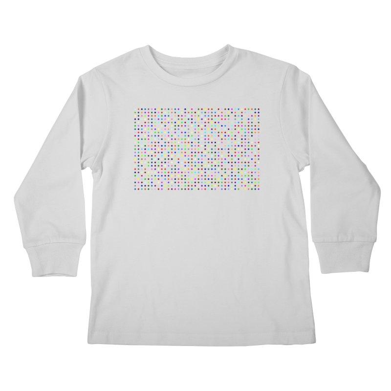 Fluclotizolam Kids Longsleeve T-Shirt by Robert Hirst Artist Shop