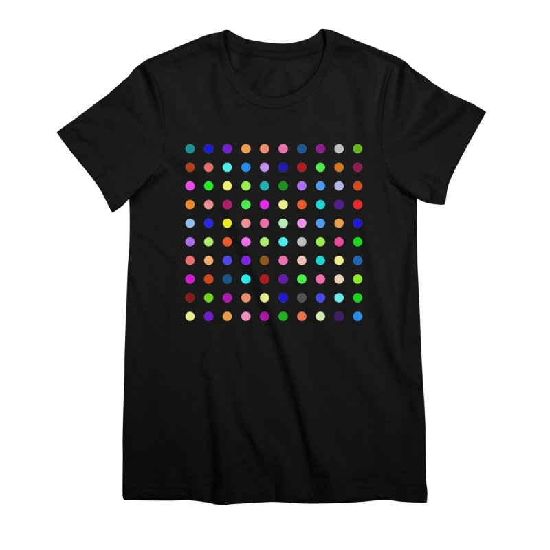 Flunitrazolam Women's Premium T-Shirt by Robert Hirst Artist Shop