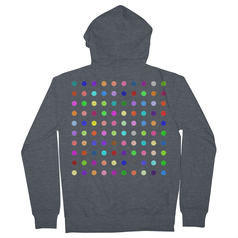 Flunitrazolam Women's French Terry Zip-Up Hoody by Robert Hirst Artist Shop