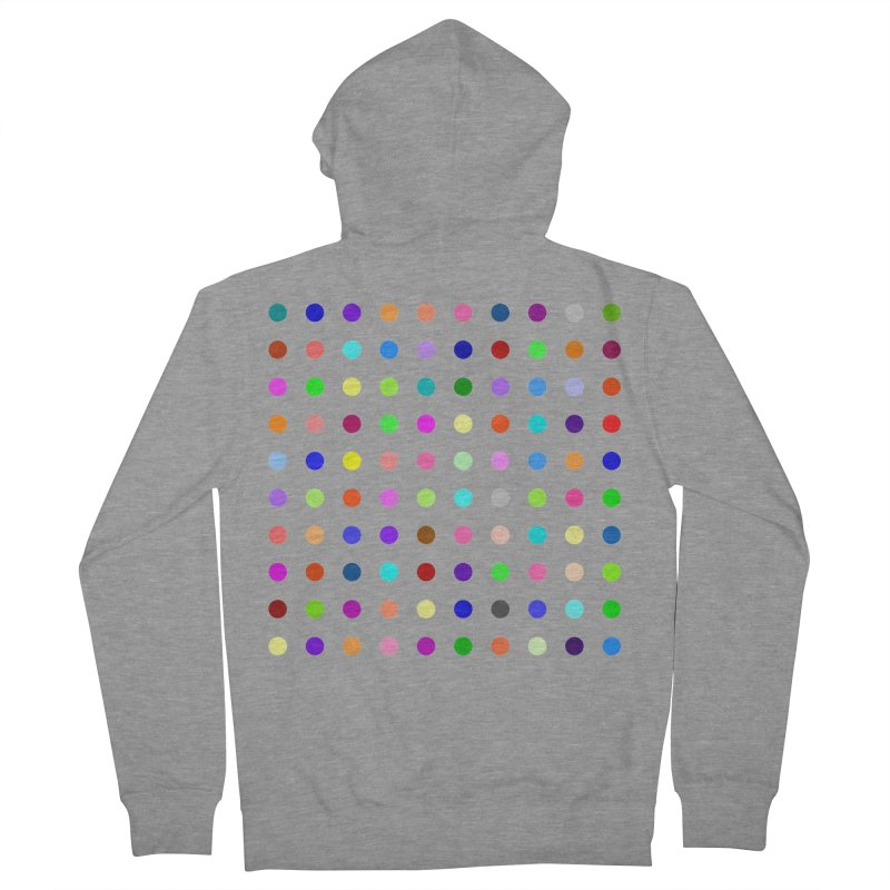 Flunitrazolam Men's French Terry Zip-Up Hoody by Robert Hirst Artist Shop
