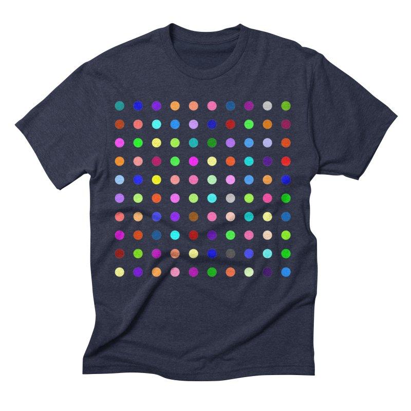 Flunitrazolam Men's Triblend T-Shirt by Robert Hirst Artist Shop