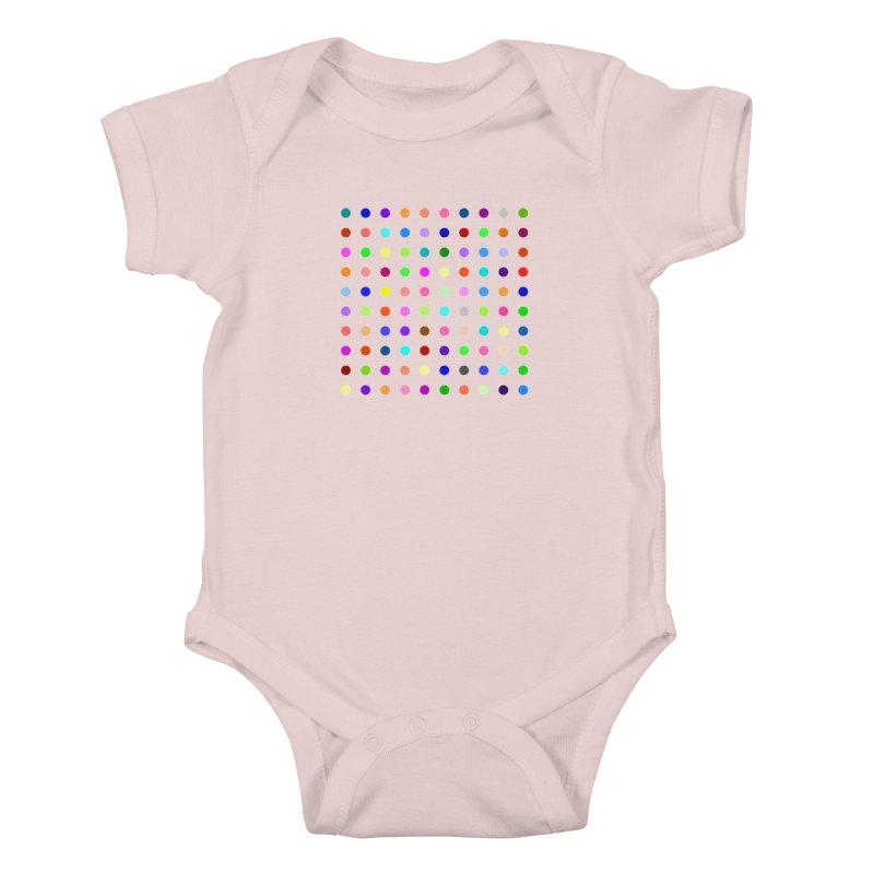 Flunitrazolam Kids Baby Bodysuit by Robert Hirst Artist Shop