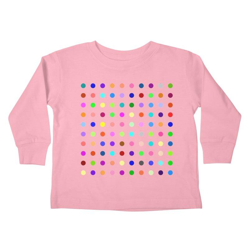 Flunitrazolam Kids Toddler Longsleeve T-Shirt by Robert Hirst Artist Shop